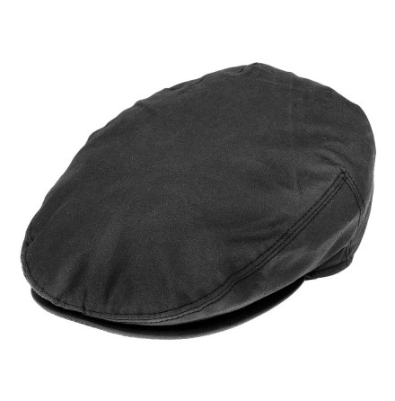 Oil Cloth Flat Cap
