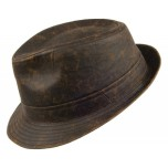 Weathered Trilby Hat