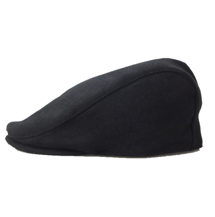 BB Black Wool Cap, svart