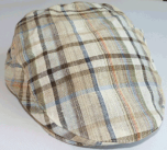 Summer Check Cap, beige